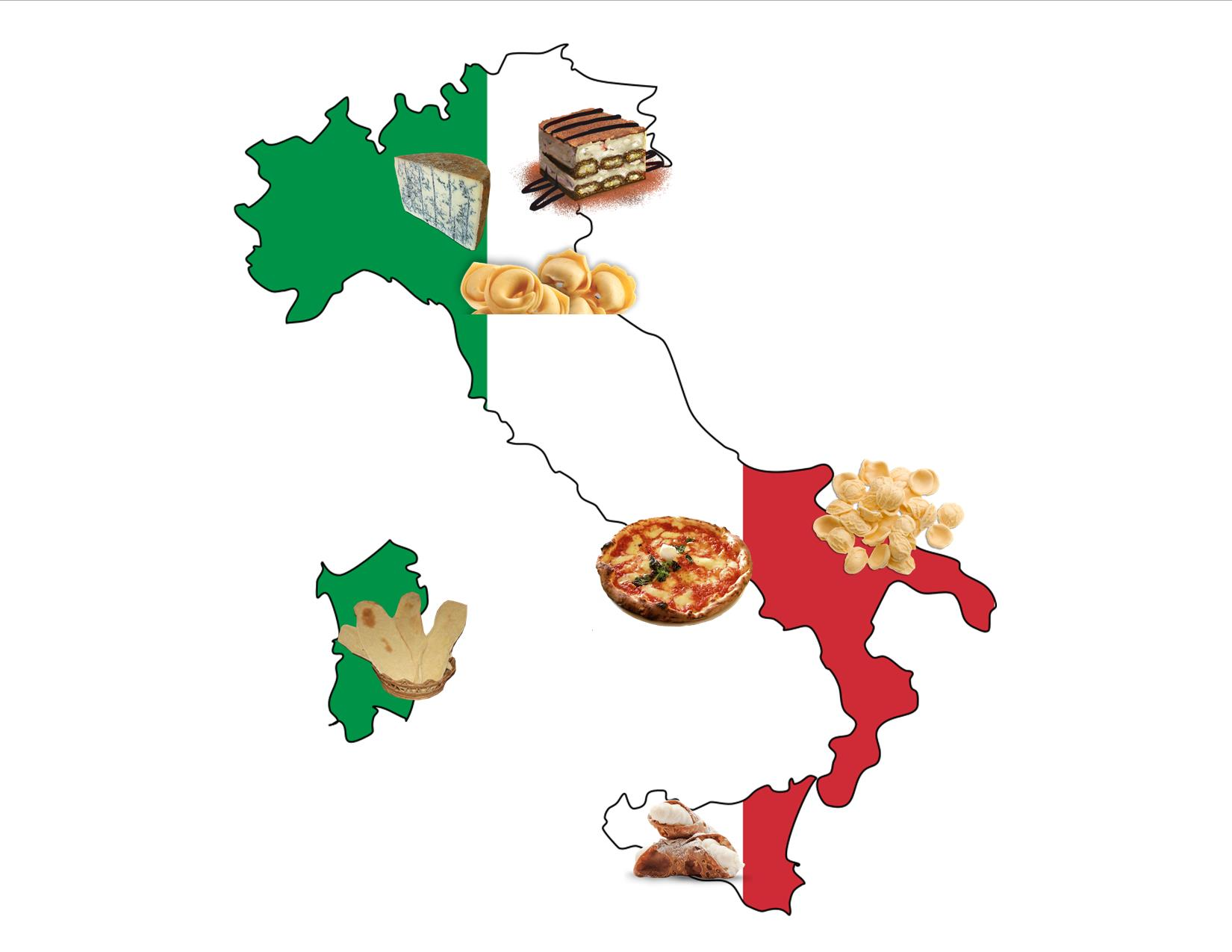 FOOD TOUR OF ITALY EXPLORE THE TASTE OF THE NORTH & THE SOUTH