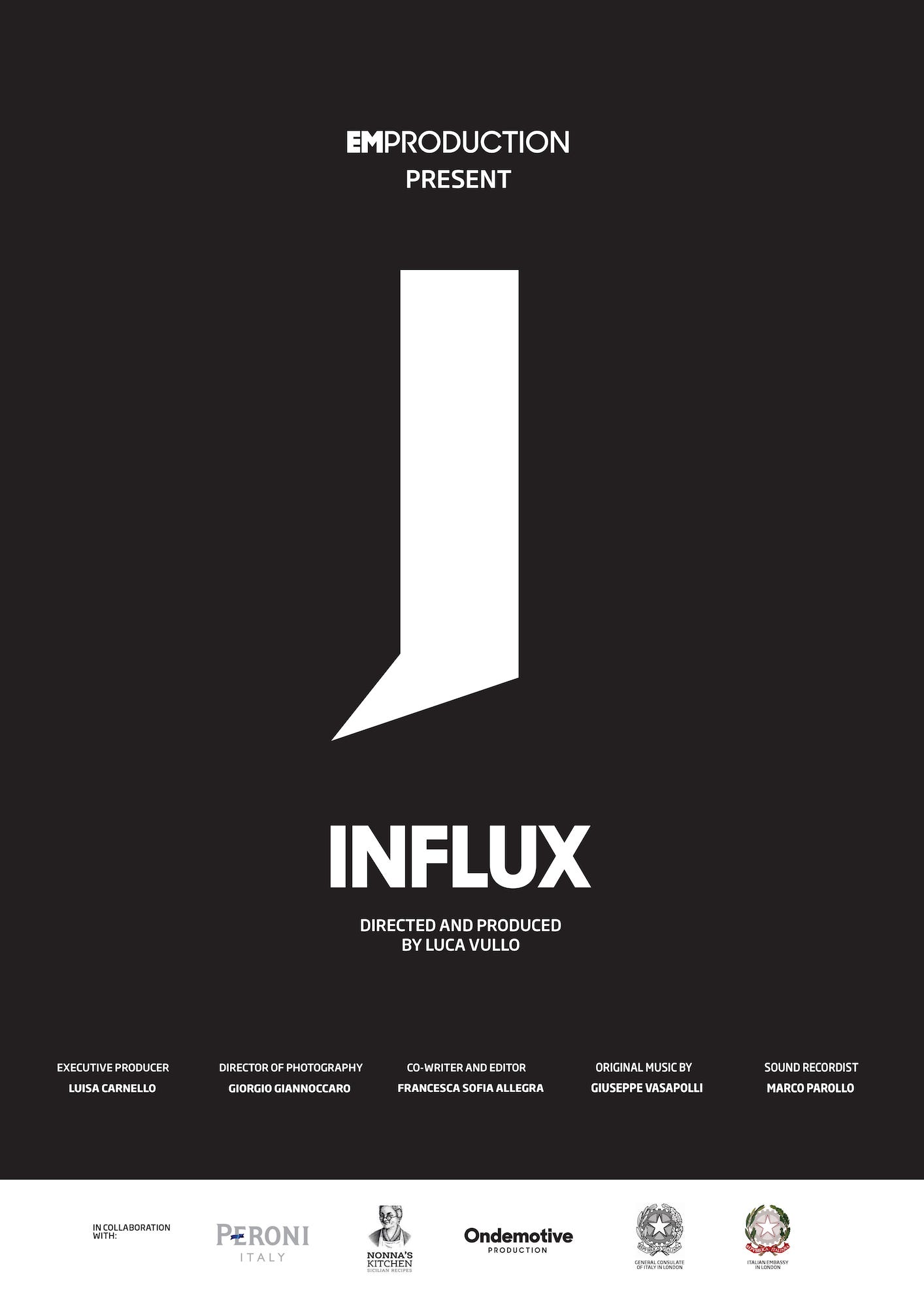 Influx: a documentary by Luca Vullo